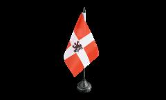 Tischflagge Frankreich Savoie Propre - 10 x 15 cm