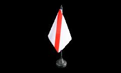 Tischflagge Frankreich Straßburg - 10 x 15 cm