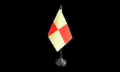 Tischflagge Frankreich Tarbes - 10 x 15 cm