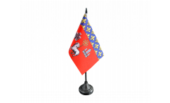 Tischflagge Frankreich Toulouse