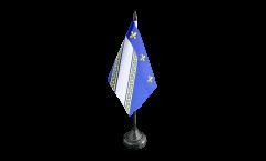 Tischflagge Frankreich Troyes