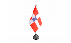 Tischflagge Frankreich Valence - 10 x 15 cm