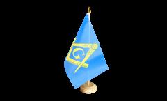 Tischflagge Freimaurer - 15 x 22 cm