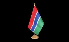 Tischflagge Gambia - 15 x 22 cm