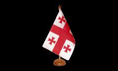 Tischflagge Georgien - 10 x 15 cm