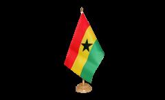 Tischflagge Ghana - 15 x 22 cm