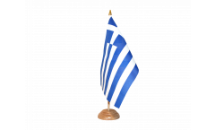Tischflagge Griechenland - 15 x 22 cm
