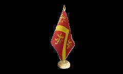 Tischflagge Großbritannien Anglesey - 15 x 22 cm