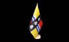 Tischflagge Großbritannien Bedfordshire neu - 15 x 22 cm