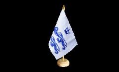 Tischflagge Großbritannien Berkshire - 15 x 22 cm