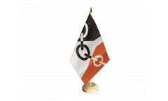 Tischflagge Großbritannien Black Country - 15 x 22 cm