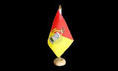 Tischflagge Großbritannien British Army Royal Armoured Corps