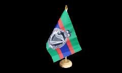 Tischflagge Großbritannien British Army Royal Irish Regiment - 15 x 22 cm