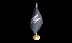Tischflagge Großbritannien British Army Special Air Service - 15 x 22 cm