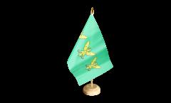 Tischflagge Großbritannien Caernarfonshire Carnarvonshire - 15 x 22 cm