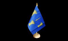 Tischflagge Großbritannien Cheshire neu - 15 x 22 cm