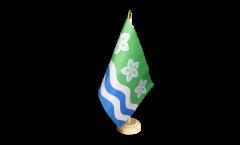 Tischflagge Großbritannien Cumberland - 15 x 22 cm