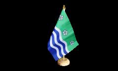 Tischflagge Großbritannien Cumbria - 15 x 22 cm