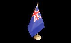 Tischflagge Großbritannien Dienstflagge zur See - 15 x 22 cm
