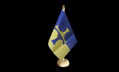 Tischflagge Großbritannien Durham County neu