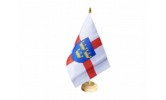 Tischflagge Großbritannien East Anglia - 15 x 22 cm