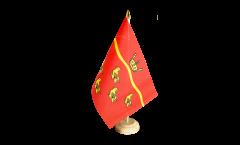 Tischflagge Großbritannien East Sussex - 15 x 22 cm