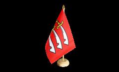 Tischflagge Großbritannien Essex - 15 x 22 cm