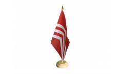 Tischflagge Großbritannien Glamorgan - 15 x 22 cm