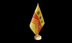 Tischflagge Großbritannien Gloucestershire - 15 x 22 cm