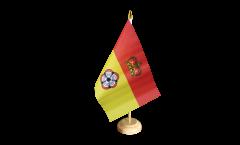 Tischflagge Großbritannien Hampshire - 15 x 22 cm