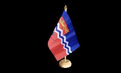 Tischflagge Großbritannien Herefordshire - 15 x 22 cm