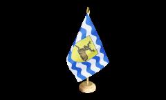 Tischflagge Großbritannien Hertfordshire - 15 x 22 cm