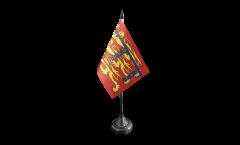 Tischflagge Großbritannien Herzogtum Lancaster