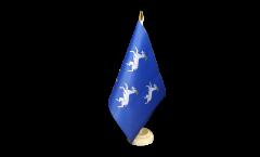 Tischflagge Großbritannien Merionethshire - 15 x 22 cm