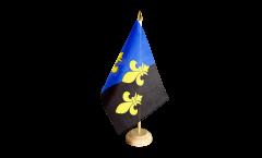 Tischflagge Großbritannien Monmouthshire - 15 x 22 cm