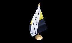 Tischflagge Großbritannien Norfolk neu - 15 x 22 cm