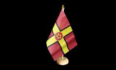 Tischflagge Großbritannien Northamptonshire neu - 15 x 22 cm