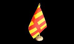 Tischflagge Großbritannien Northumberland - 15 x 22 cm