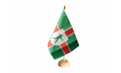 Tischflagge Großbritannien Nottinghamshire neu - 15 x 22 cm