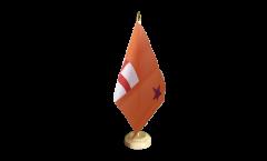 Tischflagge Großbritannien Oranier-Orden Orange Order - 15 x 22 cm