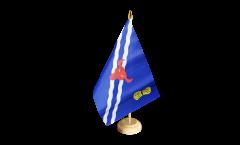 Tischflagge Großbritannien Oxfordshire - 15 x 22 cm