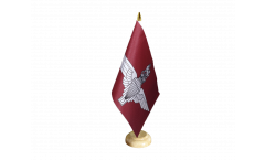 Tischflagge Großbritannien Parachute Regiment british - 15 x 22 cm