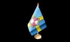 Tischflagge Großbritannien Pembrokeshire - 15 x 22 cm