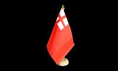 Tischflagge Großbritannien Red Ensign 1620-1707