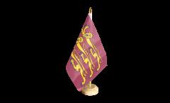 Tischflagge Großbritannien Richard Löwenherz - 15 x 22 cm