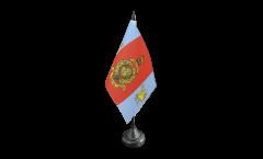 Tischflagge Großbritannien Royal Marines Reserve Merseyside - 10 x 15 cm
