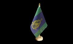 Tischflagge Großbritannien Royal Marines Signals Squadron - 15 x 22 cm