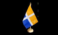 Tischflagge Großbritannien Scilly-Inseln - 15 x 22 cm