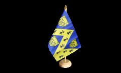 Tischflagge Großbritannien Shropshire neu - 15 x 22 cm