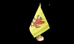 Tischflagge Großbritannien Somerset neu - 15 x 22 cm